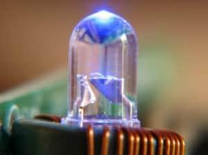 Bombilla LED con mando a distancia