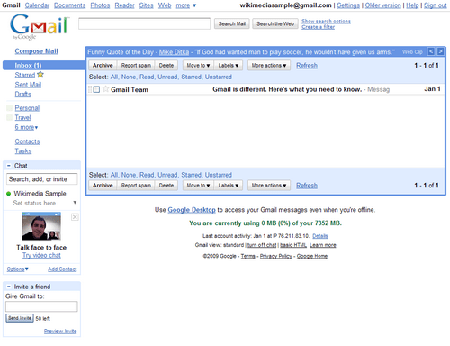 Ventajas del correo Gmail