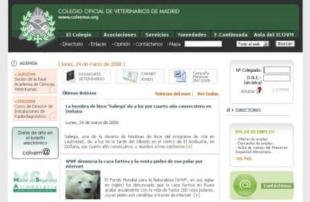 Diseño web y desarrollo de colvema.org