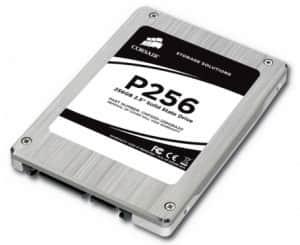 Corsair SSD P256, la memoria