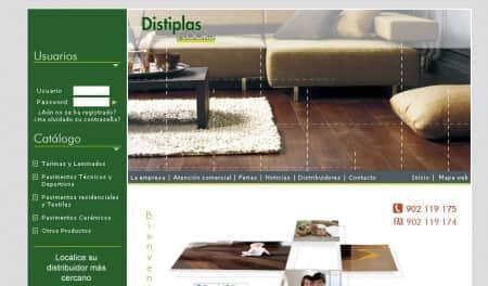 catálogo online de distiplas