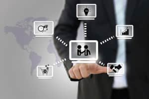 Business network diagram