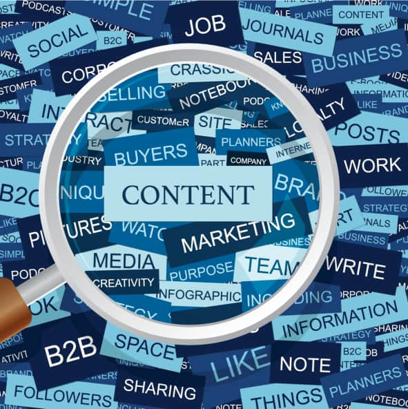 Tipos de contenido escrito