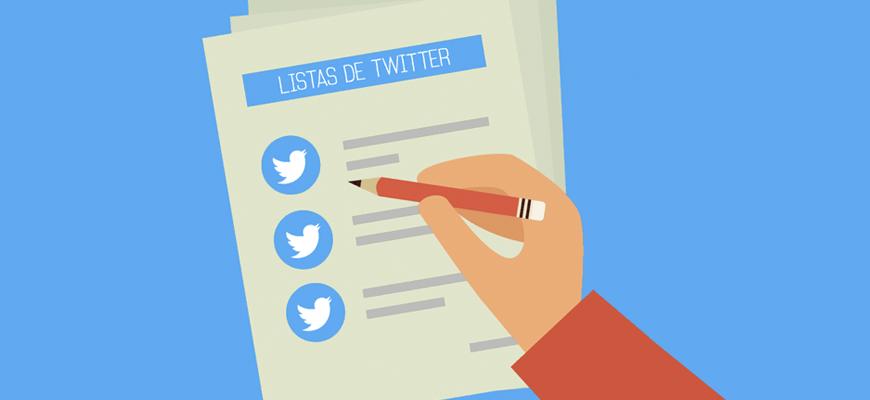 para qué sirven las listas de twitter