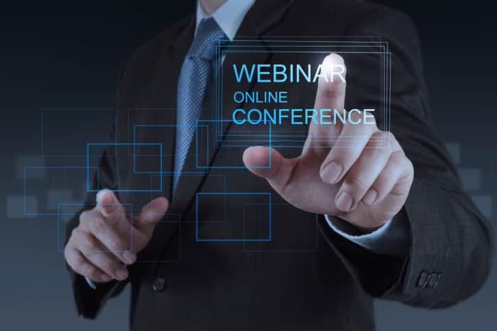 Webinar, un canal de formación para los usuarios