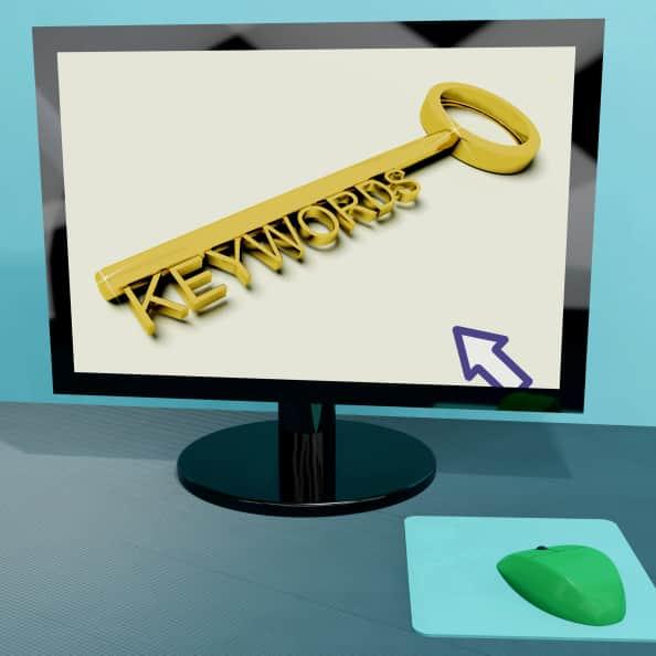 keywords y content marketing