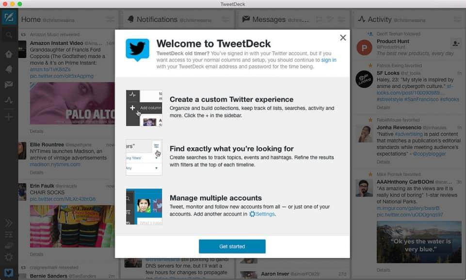 TweetDeck Social Media