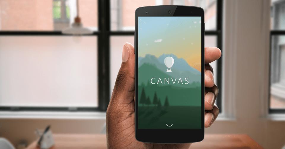 Facebook Canvas, cuenta tu historia de una forma original