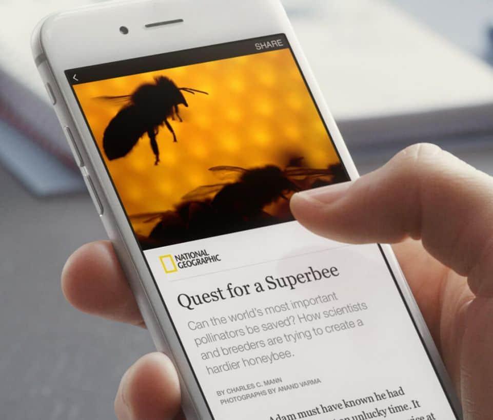 El impacto de los Instant Articles de Facebook
