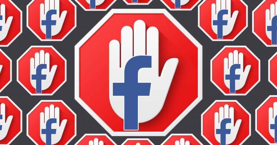 facebook y bloqueadores de publicidad