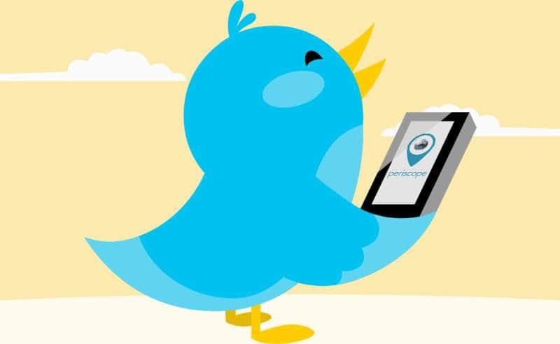 periscope de Twitter app