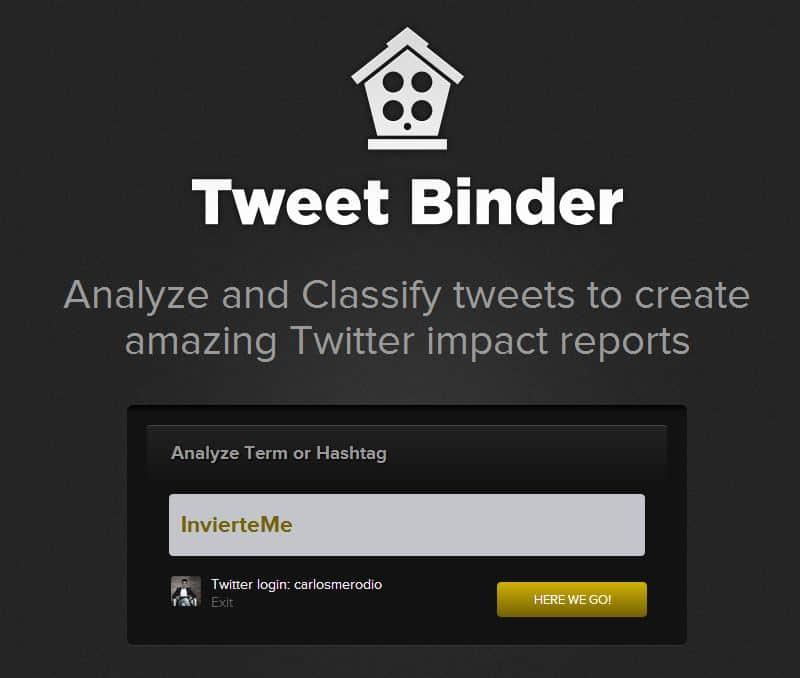 ¿Para qué sirve Tweet Binder?