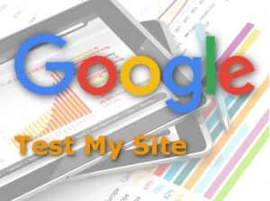 test my site velocidad para Google