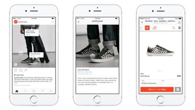 estrategia e-commerce de Instagram