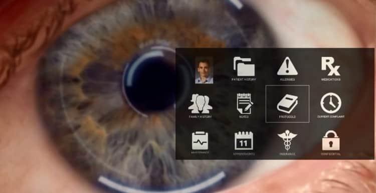Google y Eyefluence controlan el movimiento ocular de los usuarios
