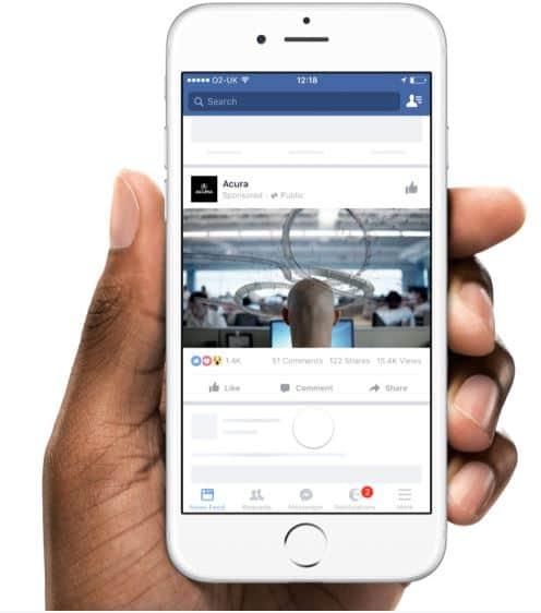 Creative Hub de Facebook