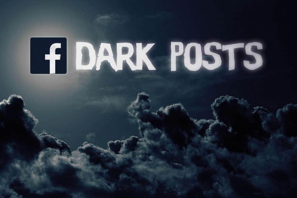 ¿Qué son los dark posts?