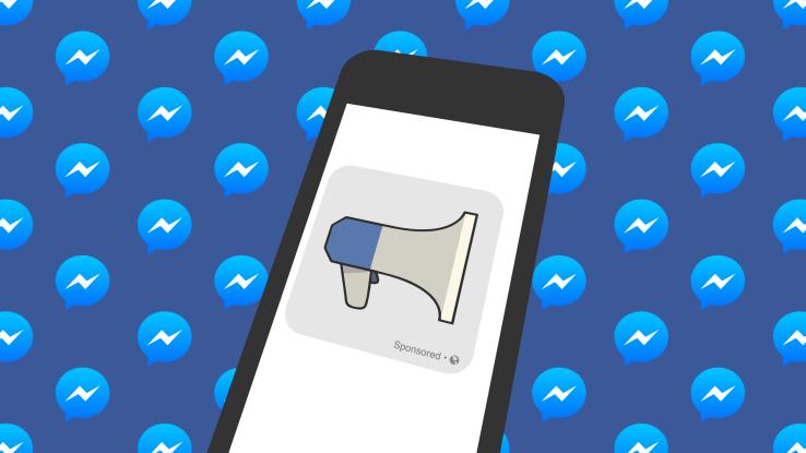 Publicidad en Facebook Messenger comienza su andadura