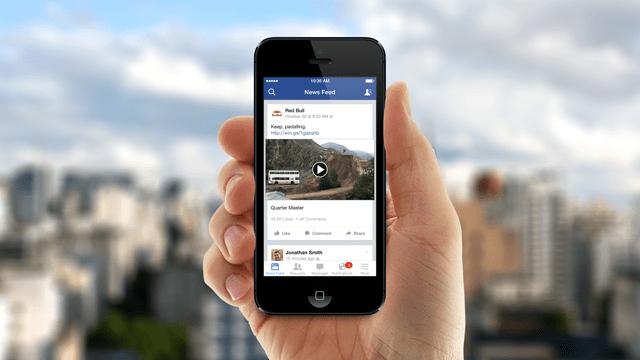 La presencia cada vez mayor de vídeos cortos en Facebook