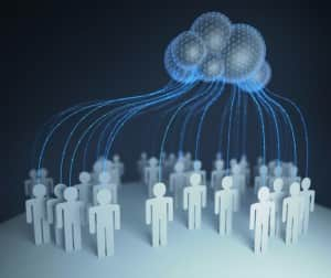 Cloud Computing Interconnected People