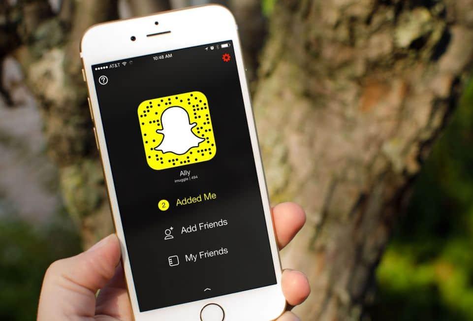 Publicidad con imágenes en Snapchat