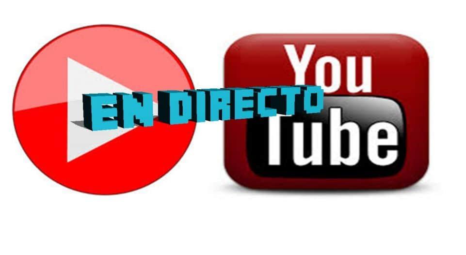 vídeos en directo de YouTube
