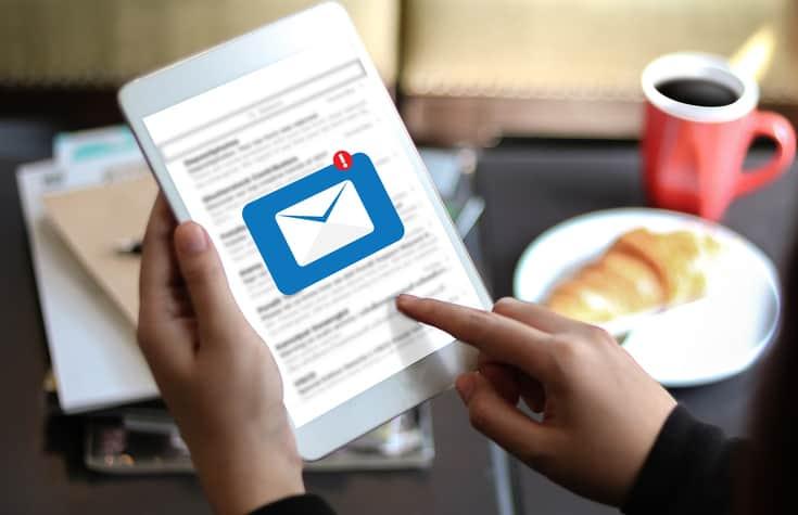 Acciones de email transaccional